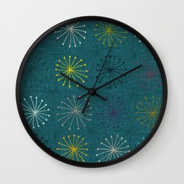 seedheads peacock Wall Clock