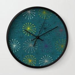 seedheads peacock Wall Clock