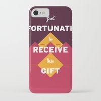 warcraft iPhone & iPod Cases featuring Feel fortunate to receive this gift by krisztian