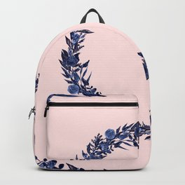 Dawn of Flowers, Blue Willow. Backpack