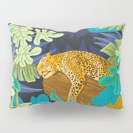 Sleeping Panther Pillow Sham