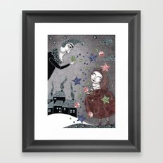 Snow Stars Fine, Snow Stars Mine Framed Art Print