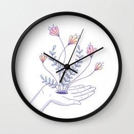 Inner magic garden Wall Clock