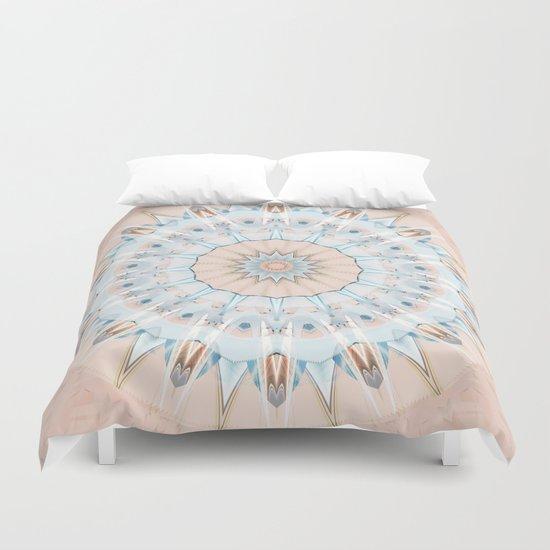 Mandala Pantone 2016 Duvet Cover