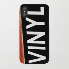 Vinyl iPhone X Slim Case