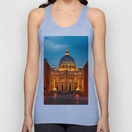 Basilica Papale di San Pietro in Vaticano - Rome - Italy Unisex Tank Top
