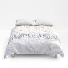 Greek Marble 2 Comforters