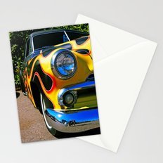 Up in flames Stationery Cards