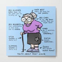 Grandma Metal Print
