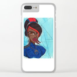 The Good Witch Clear iPhone Case