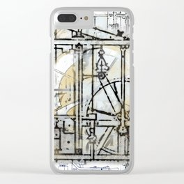 The Steampunk Machine Clear iPhone Case