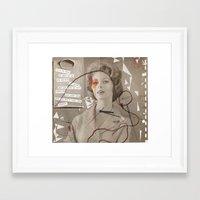 poem Framed Art Prints featuring LOVE POEM by MEERA LEE PATEL