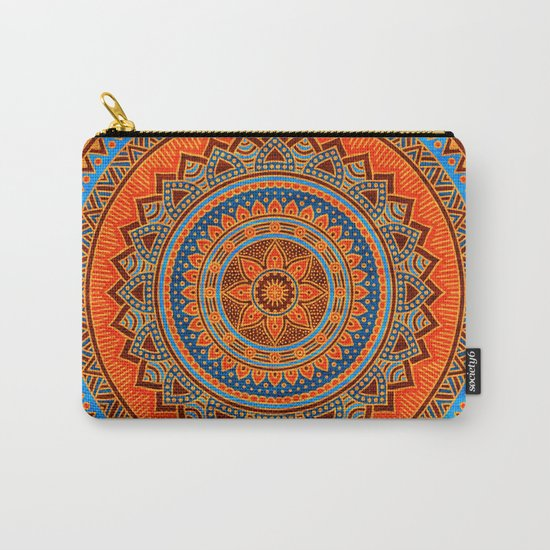 Hippie mandala 77 Carry-All Pouch