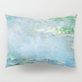 water liliesMonet Water Lilies / Nymphéas 1906 Pillow Sham