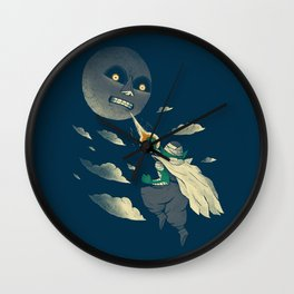 how to defeat the moon Wall Clock