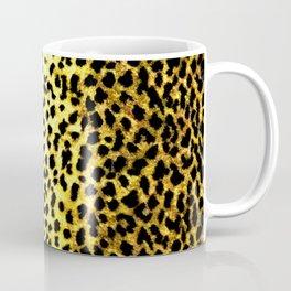 Leopard Print Animal Wallpaper Coffee Mug
