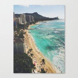 Above Waikiki Canvas Print