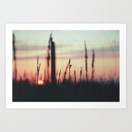Sunset Calling Art Print