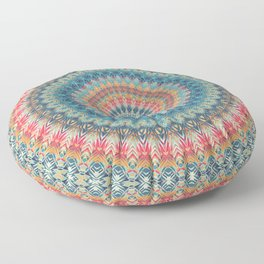 Mandala 369 Floor Pillow