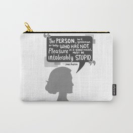 [Jane Austen] Book Lover Carry-All Pouch