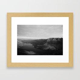 Loch Lurgainn and Beinn an Eoin Framed Art Print