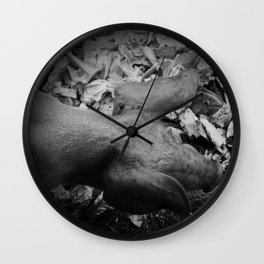 MY LITTLE PIG (Us And Them) Wall Clock