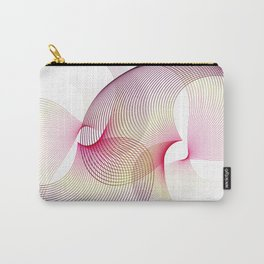 """""""Flow love"""" minimal geometric Carry-All Pouch"""