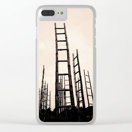 Journeying with Dante and Virgil in a forest of possible opportunities Clear iPhone Case
