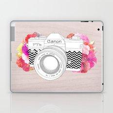 BLOOMING CAN0N Laptop & iPad Skin