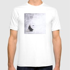 Reflections Mens Fitted Tee MEDIUM White