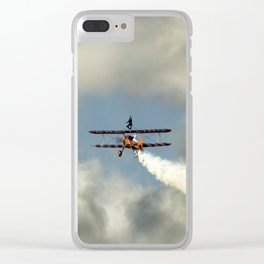 Wingwalkers Clear iPhone Case