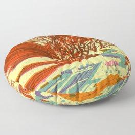 A bird never seen before - Fortuna series Floor Pillow