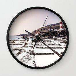 Salt Pans // La Palma Wall Clock