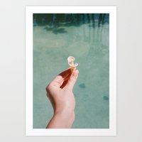 She Shell Art Print