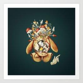 Toadstool Spirit Art Print