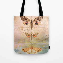 Then The Moths Came Tote Bag