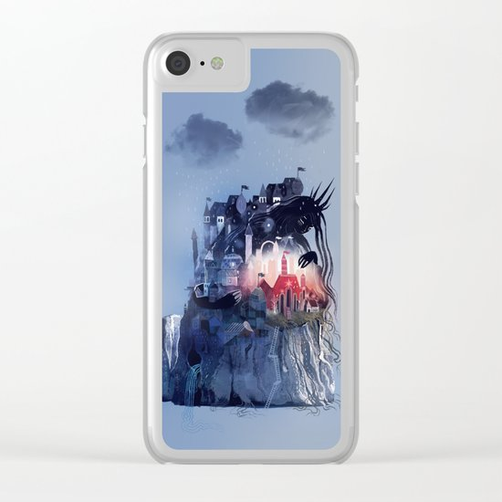 Sorrow's City Clear iPhone Case