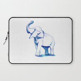 Blue Elephant Laptop Sleeve