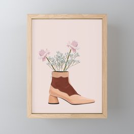 Boots With The Fleurs Framed Mini Art Print