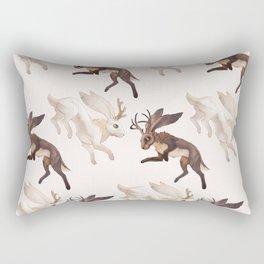 Ying Yang Jackalope Rectangular Pillow