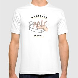Honest Blob - Whatever Works T-shirt