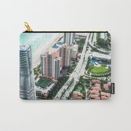fort lauderdale aerial view Carry-All Pouch