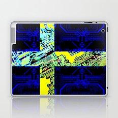 circuit board Sweden (Flag) Laptop & iPad Skin