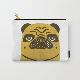 Serious Pug Carry-All Pouch