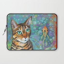 Kitty's Daydream by Robynne Laptop Sleeve