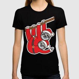 Santa Sloths T-shirt
