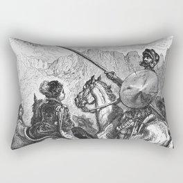 Don Quijote Rectangular Pillow