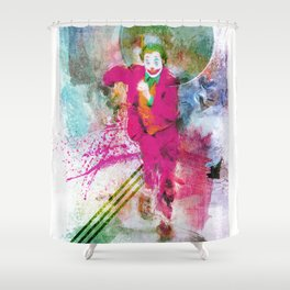 Artiful Joker Shower Curtain