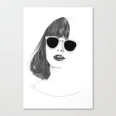 Hair Study #2 Canvas Print
