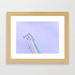 Frecce… Framed Art Print
